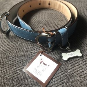 NWT Authentic Coach Dog Collar